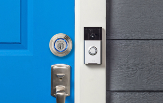 Kevo Lock & Ring Video Doorbell – Front Door Camera