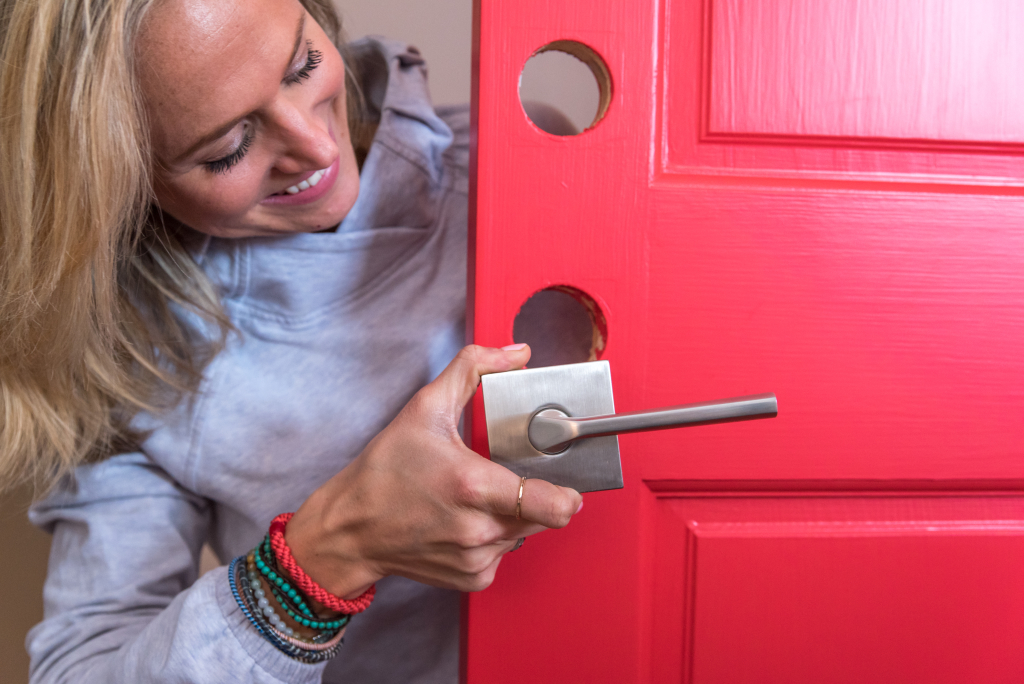 Reinforce your desired aesthetic by picking the right Kwikset door hardware.