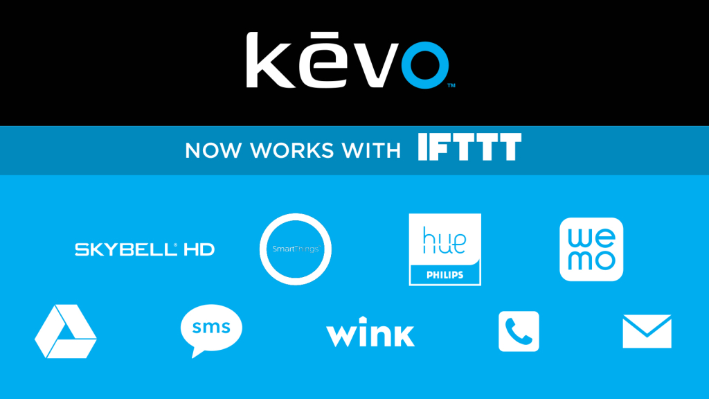 Kevo and IFTTT Applets
