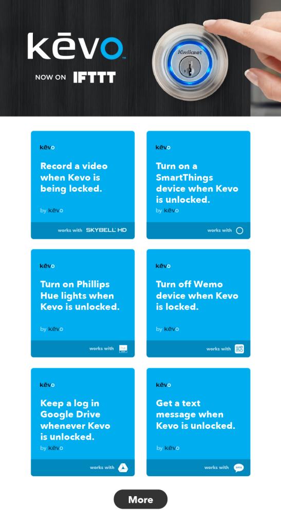 Kevo Recipes Pinterest