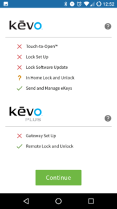 Kevo Android App Doctor