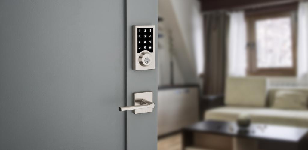 smart home touchscreen smart lock