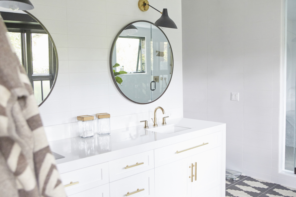Satin Brass Bathroom Trend