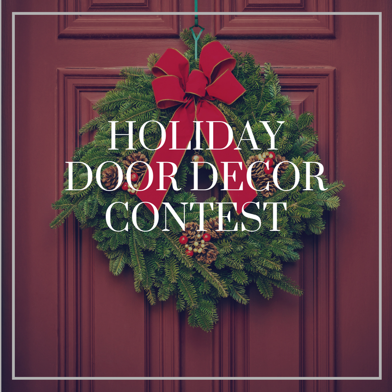 we may be bias but who doesnt love holiday door decor we want to see how you greet your holiday visitors whether its with lights boughts of holly - Christmas Door Decorating Contest